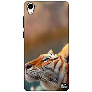 Designer HTC 826 Nutcase Case Cover - Tiger Thinking