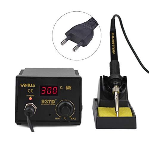 Keyobesa Schweißgerät Ac 220V Multifunktionale Hochtemperaturbeständigkeit Tragbarer Cutter mit Digitalanzeige