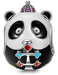 NinaQueen - Kung Fu Panda - Charm pour femme argent 925 (Bonne série Family)
