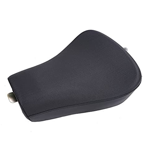 WANOOS Driver Leather Seat Cushion For Harley Sportster 1200 883