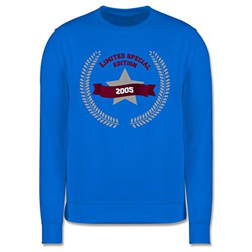 Geburtstag - 2005 Limited Special Edition - Herren Premium Pullover Himmelblau