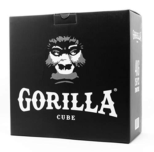 Gorilla Cube ESP Shisha Kohle 4kg Box - 26mm Cubes