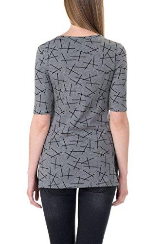 Bellybutton 1/2 Arm, T-Shirt Femme Grau (asphalt 8882)