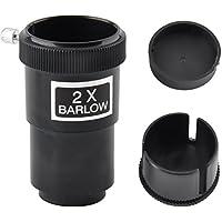 gosky 1. 25(2x lente de Barlow para telescopios newtonianos ocular/lentes