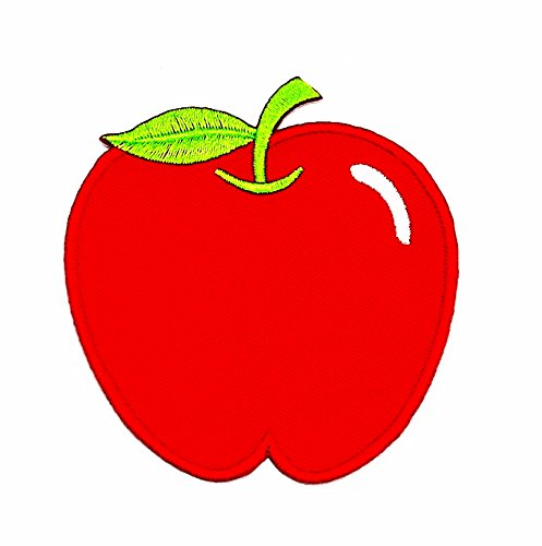 rabana rot Apple Cartoon Kids Kinder Cute Animal Patch für Heimwerker-Applikation Eisen auf Patch T Shirt Patch Sew Iron on gesticktes Badge Schild Kostüm (Apple Gestickt)