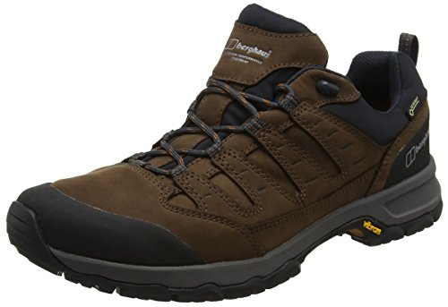 Berghaus Herren Fellmaster Active Tech Trekking- & Wanderhalbschuhe, Braun (Brown/Burnt Orange X11), 44.5 EU (Orange Nase Stud)
