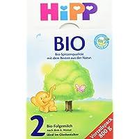 Hipp Bio 2 Folgemilch - ab dem 6. Monat, 4er Pack (4 x 800g)