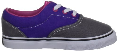 Vans K Era, Baskets mode garçon Steel Grey/Purple