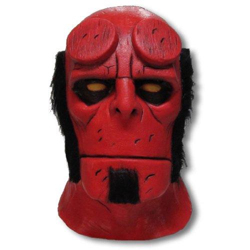 Hellboy Deluxe Latex Maske (Maske Hellboy)