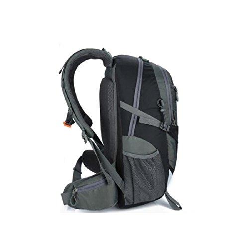 Z&N Hochwertiges Wasserdichtes Nylon 40L KapazitäT Outdoor Sport Bergsteigen Tasche Camping Wandern GepäCk Tasche Wochenende Urlaub Party Picknick Lagerung Tasche C