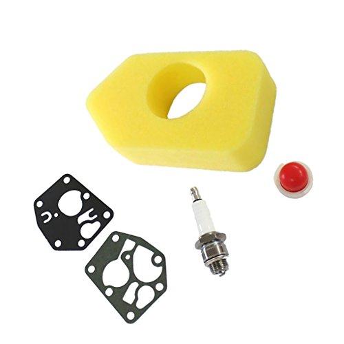 FLAMEER Kit De Pièces De Rechange pour Ampoule D'amorce De Bougie D'allumage De Filtre à Air pour Briggs Stratton 694394