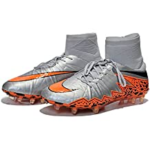 ntfo0ts Generic Mens Hypervenom Phantom premium II FG Flyknit Hi Top Zapatos de fútbol botas de fútbol