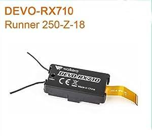 XT-Xinte origine Walkera Runner 250 2.4G DEVO-RX710 r¨¦cepteur Runner 250-Z-18