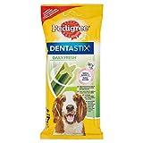 Pedigree Dentastix Fresh Premios Para Perros Medianos de Higiene Oral - 180 gr, Paquete de 7 sticks