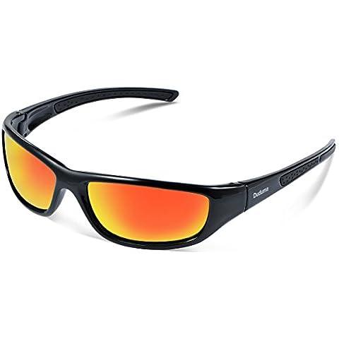 Duduma Gafas de Sol Deportivas Polarizadas Para Hombre Perfectas Para Esquiar Golf Correr Ciclismo TR8116 Súper Liviana Para Hombre y Para