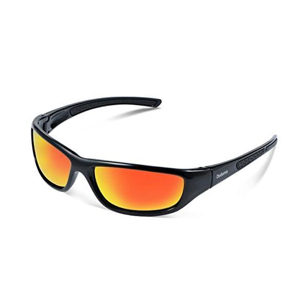 Duduma Tr8116 Polarised Sports Sunglasses for Mens and Womens Design for Ski Baseball Golf Cycling Fishing Running Driving Superlight Frame 1