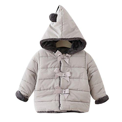 Baby-Mdchen-Niedlich-Wrme-Winterjacke-LOSORN-ZPY-Winter-Jacken-Fleece-Mntel-mit-Kapuze
