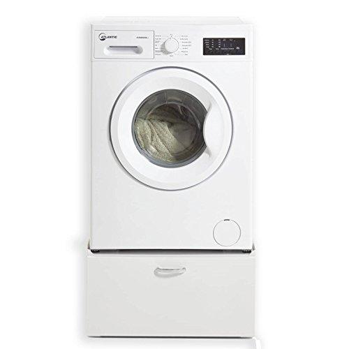 Unbekannt Waschmaschinen-Unterschrank Homy CASA - Metall - Weiß