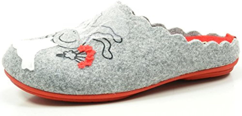 Manitu 320508 Zapatillas de casa para mujer