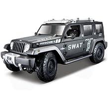Maisto 36211 - Modellino Die Cast Jeep Rescue Concept Police 2e33750797b5
