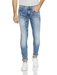 Jack & Jones Men's Slim Fit Stretchable Jeans