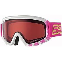 Salice 708DAFD Gafas de ski para niña, color blanco y fucsia