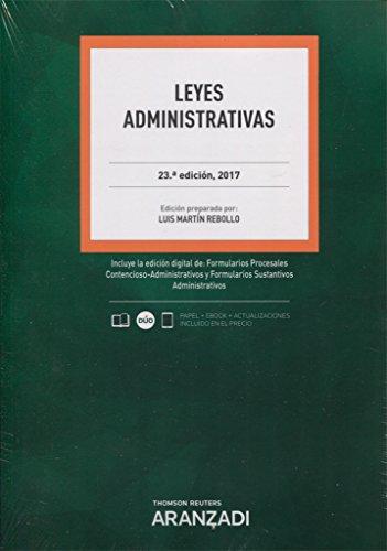 Leyes Administrativas (Papel + e-book) (Código Profesional)