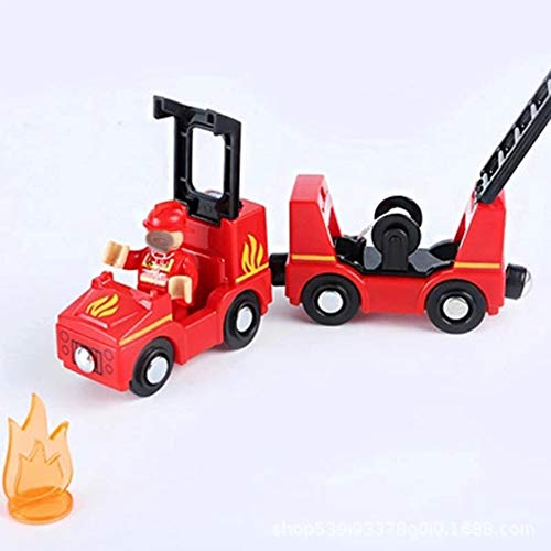 HLDX Car Fire Truck/Cartoon Big Truck Toy-Lichter und Geräusche-Set Model Toys and Gifts for Children es TOS Toddlers -