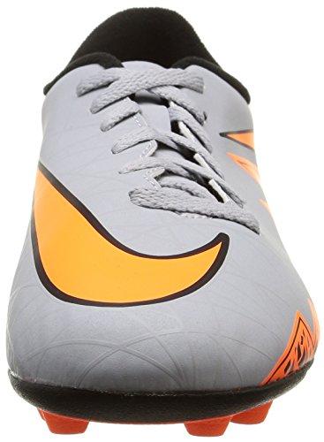 Nike Herren, , jr hypervenom phade ii fg-r, mehrfarbig (wolf grey/total orange-blk-blk) mehrfarbig (Wolf Grey/Total Orange-Blk-Blk)
