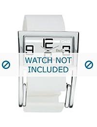 Dolce & Gabbana correa de reloj 3719251192 Cuero Blanco(Sólo reloj correa - RELOJ NO INCLUIDO!)