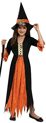 Haunted House - Bruja gótica, disfraz infantil, talla M (Rubie's 881026-M)