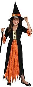 Haunted House - Bruja gótica, disfraz infantil, talla M (Rubie