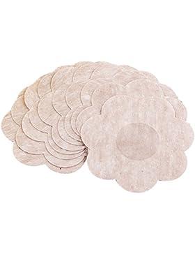 TININNA Donna Monouso Petalo Forma adesivo invisibile copertura dell'ugello capezzolo copre rilievo del seno Adesivi...
