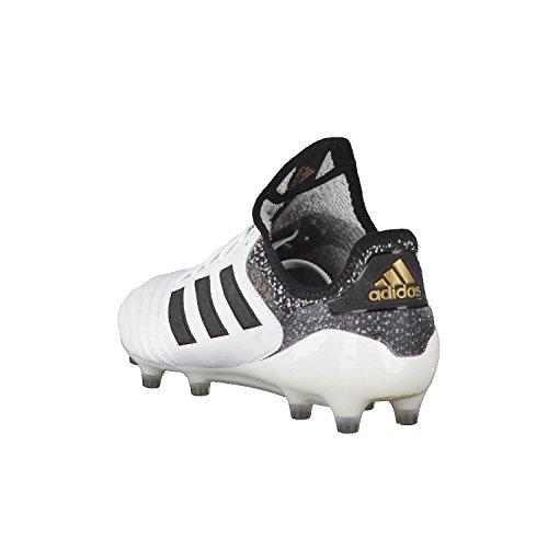 adidas Copa 18.1 FG, Chaussures de Football Homme, Blanc/Noir, 44 EU Weiß (Ftwwht/Cblack/Tagome)
