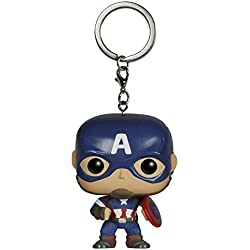 Funko POP! Pocket Keychain: Marvel: Avengers AOU: Captain America (5224)