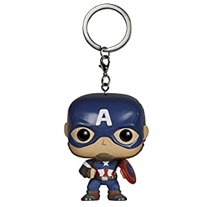 Funko POP Pocket Keychain Marvel Avengers AOU Captain America 5224
