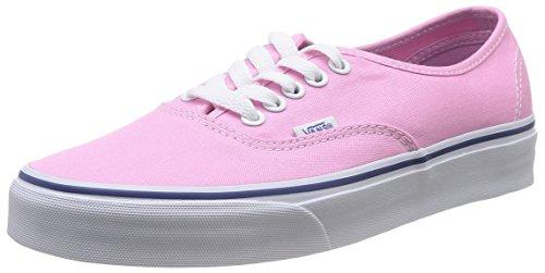 Vans AUTHENTIC, Unisex-Erwachsene Sneakers, Pink (Prism Pnk/TrWht 2W0), 38 EU (Vans Schuhe Herren Pink)