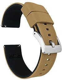 Barton Elite - Correa de reloj de silicona – liberación rápida – elegir color – 18