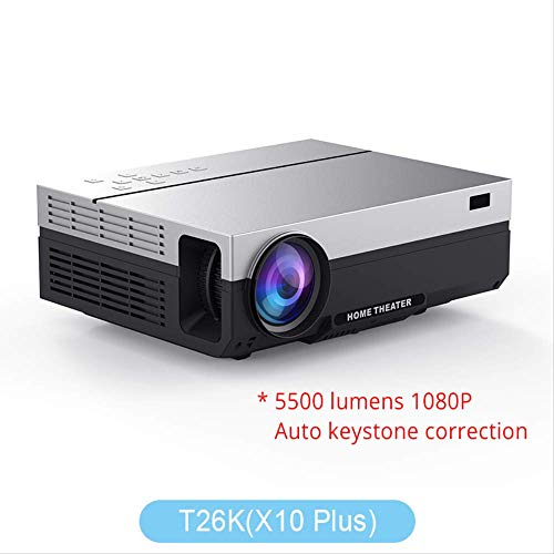 SMEI Projektor Full Hd Beamer Video Led Native 1080p 5500 Lumen T26l Home Cinema T26K Lcd Ceiling Support