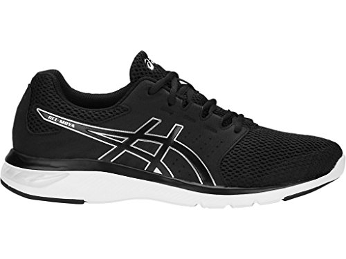 ASICS Men's Black/Silver Running Shoes-9 UK/India (44 EU) (10 US) (T841N.9090)