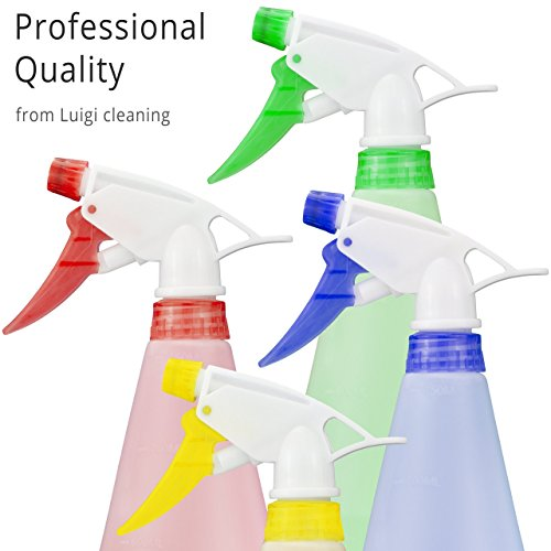 4-x-plastic-trigger-spray-bottles-thick-empty-heavy-duty-750ml-25oz-with-adjustable-nozzle-and-colou