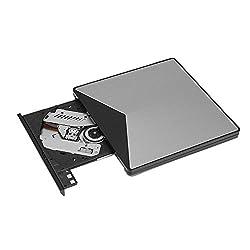 Richer-r Externes Dvd Laufwerk, Tragbar Usb3.0 Ultradünne Externer Dvd-brenner Dos-startup,portable High Speed Dvdcd Superdrive Laufwerk Brenner Für Ios Windows Computer
