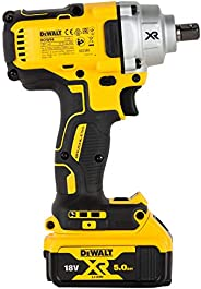 Dewalt DCF894P2 - 18V 400Nm XR Li ion 1/2 inch Cordless Impact Wrench with Brushless Motors - 2x5.0Ah Batterie