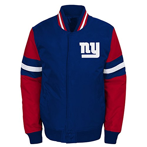 Outerstuff NFL New York Giants Jungen Youth legendären Farbe Blockiert Varsity Jacke, Jungen, 9K1B7FAJ7 NYG -BXL20, Dark Royal, Youth XL -