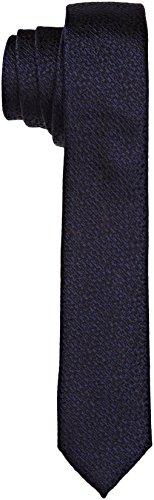 Calvin Klein Herren Krawatte Naples, Blu (True Navy), Einheitsgröße
