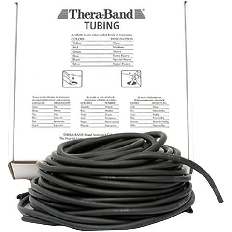 Thera-Band - Cuerdas para extensores negro spez. stark/schwarz Talla:7,50 m