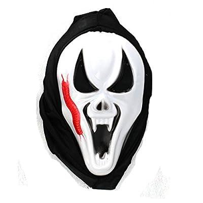 Halloween liefert Masquerade Ball Maske monolithischen Gesichter terroristischen Totenmaske , b