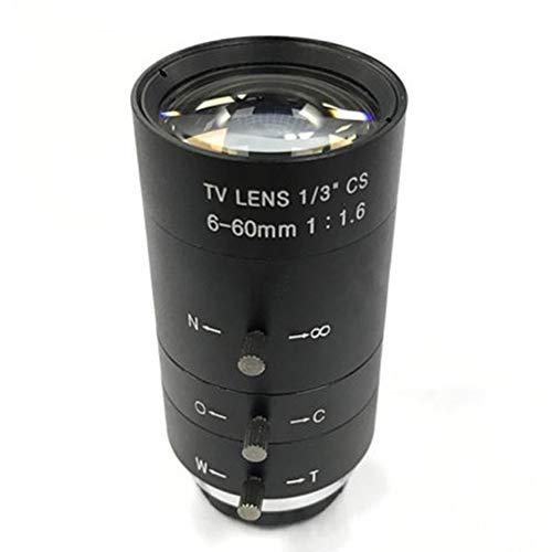 CCTV Video Objektiv Handbuch IRIS Zoom 6-60mm CS Mount Objektiv Für Industriemikroskop Vario CCTV Objektiv Überwachungskamera Objektiv Zoom Manual Iris