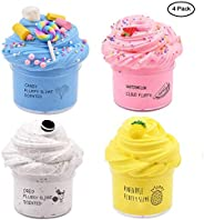 Cutiecute Slime Kit,Super Soft & Non-Sticky, Stress Relief Toy Scented Sludge Toy for Kids Education, Part
