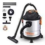 TACKLIFE Wet and Dry Vacuum, Vacuum Cleaner, 3 in 1 Function, Stainless, 18.9L